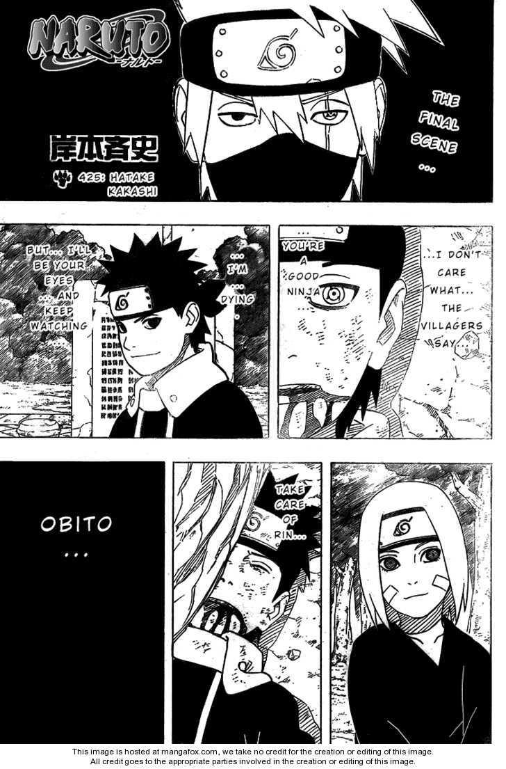 Naruto 425 Page 1