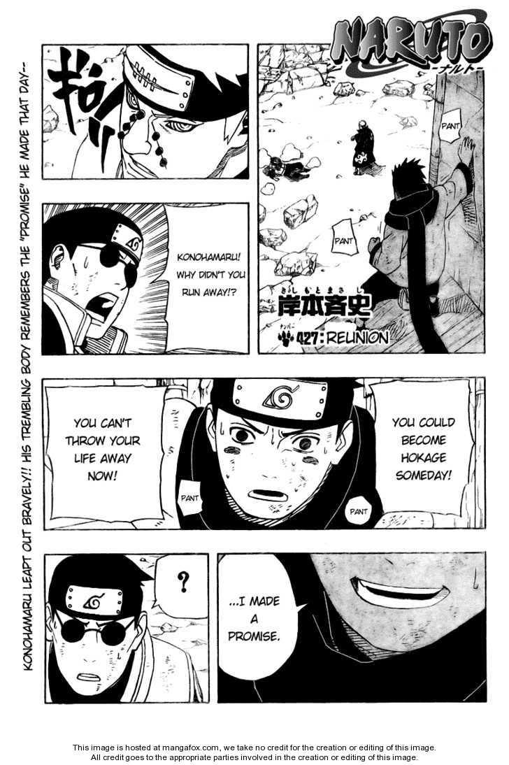 Naruto 427 Page 1