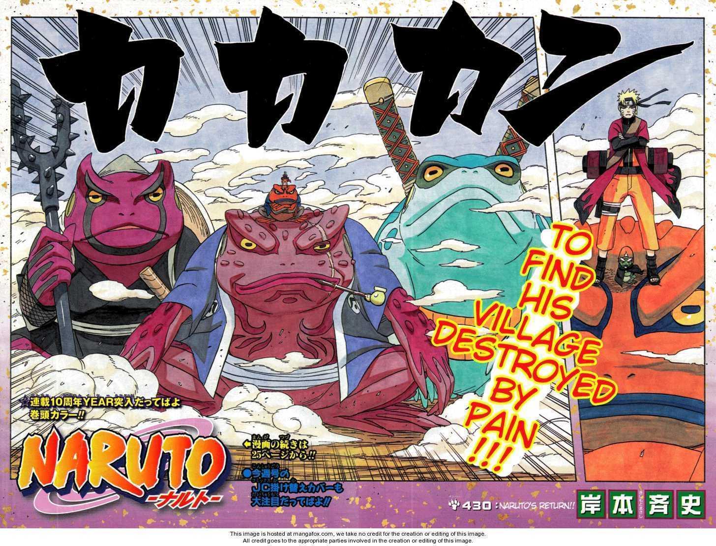 Naruto 430 Page 2