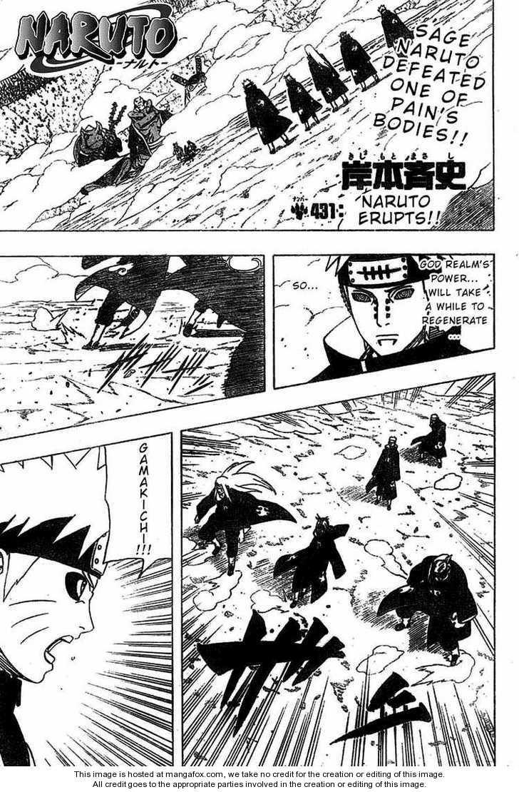 Naruto 431 Page 1