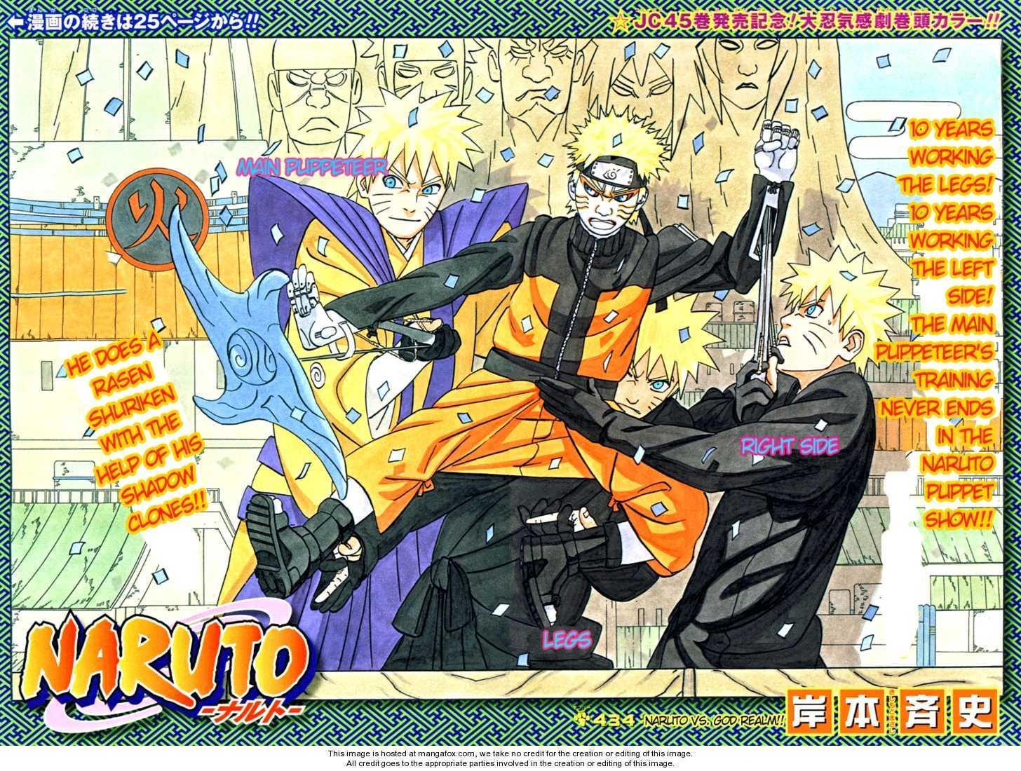 Naruto 434 Page 1