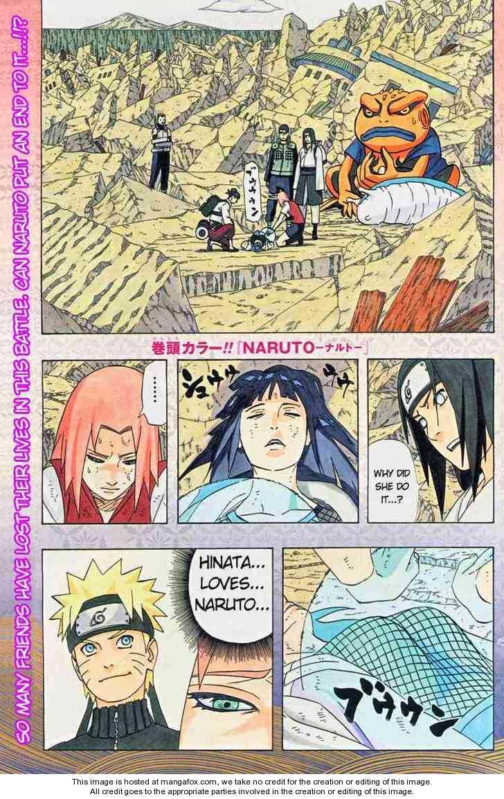 Naruto 442 Page 1