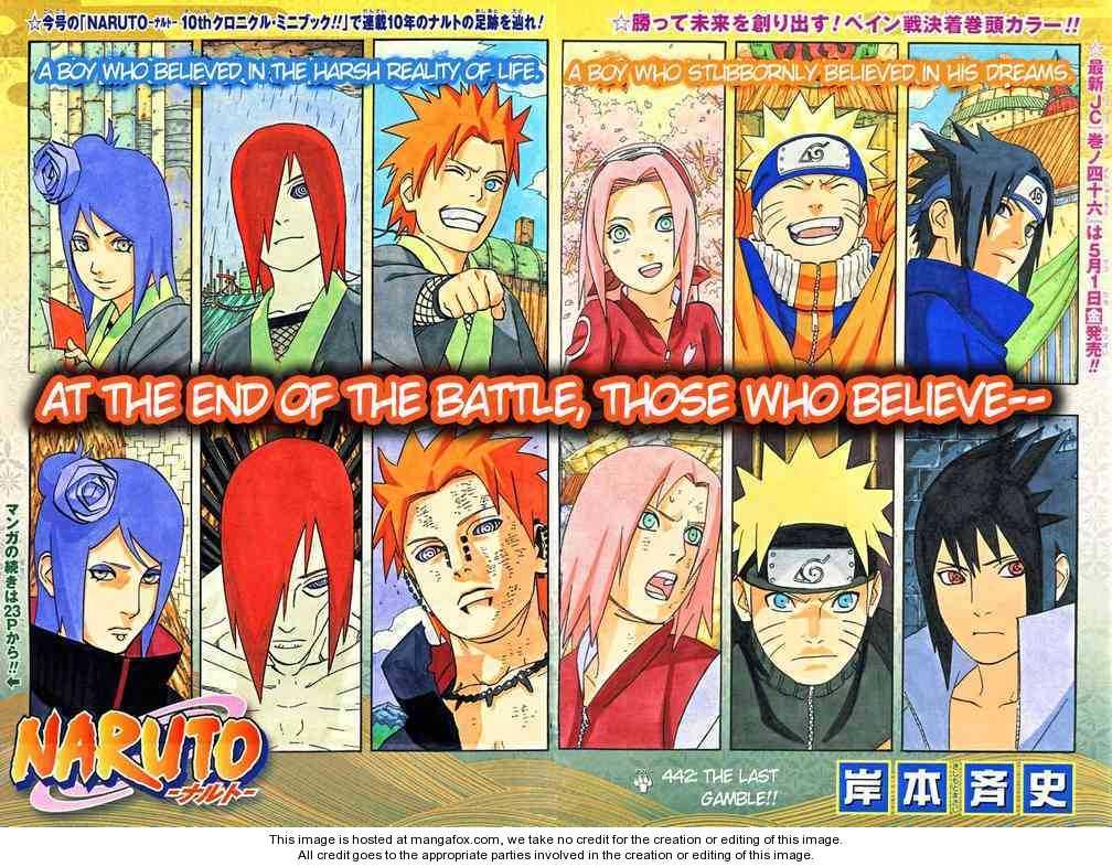 Naruto 442 Page 2