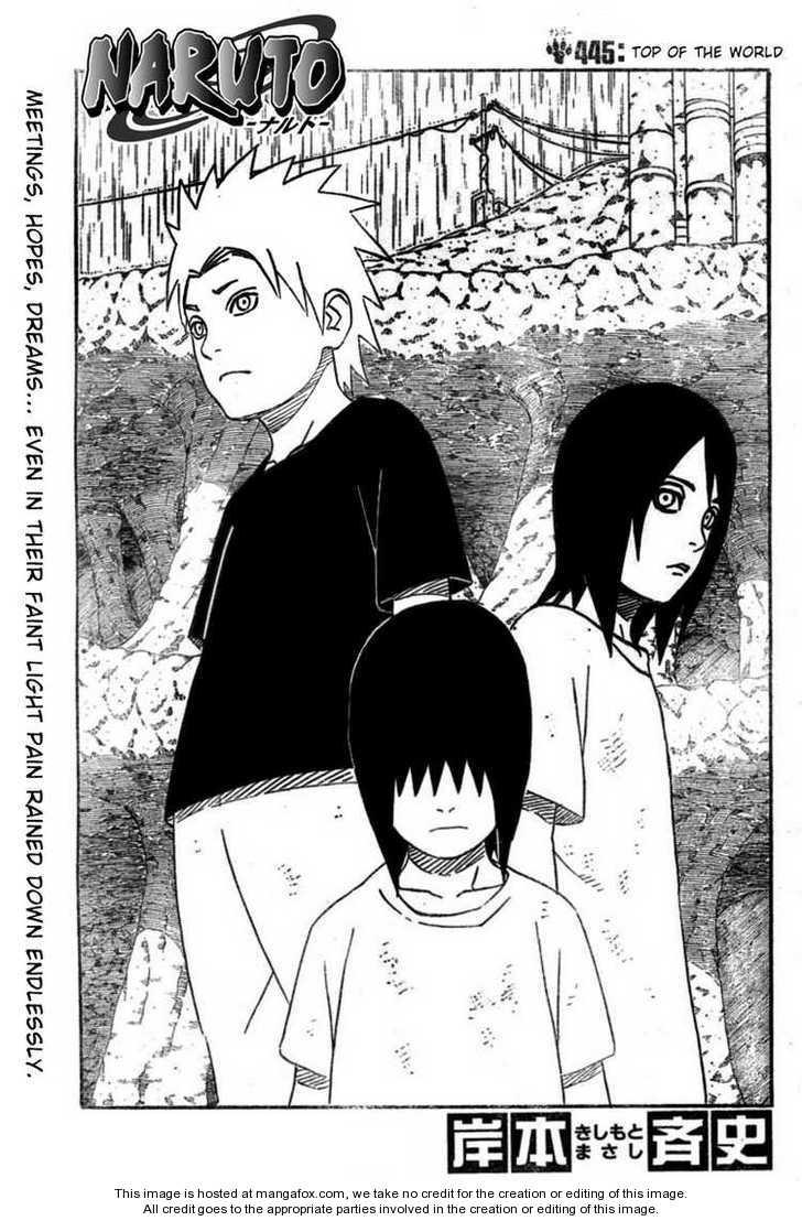 Naruto 445 Page 1