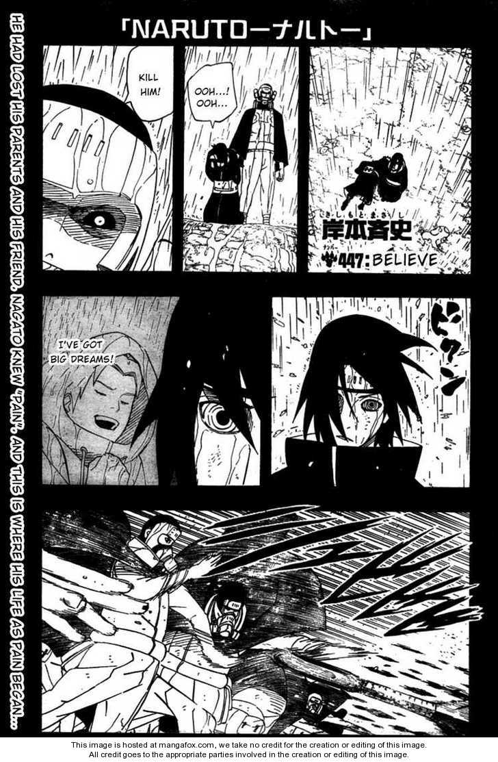 Naruto 447 Page 1