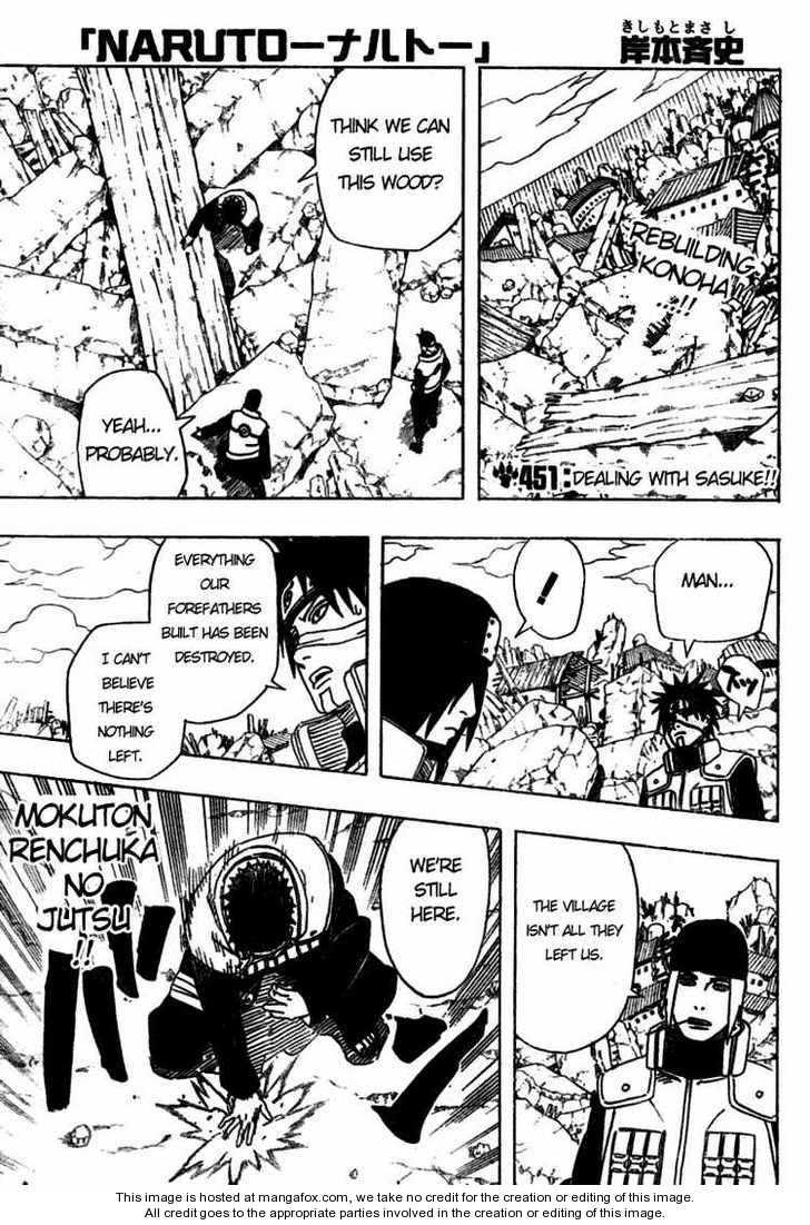 Naruto 451 Page 1
