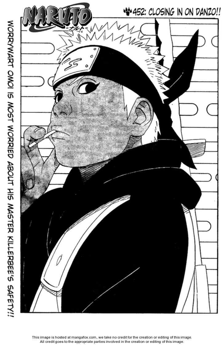 Naruto 452 Page 1