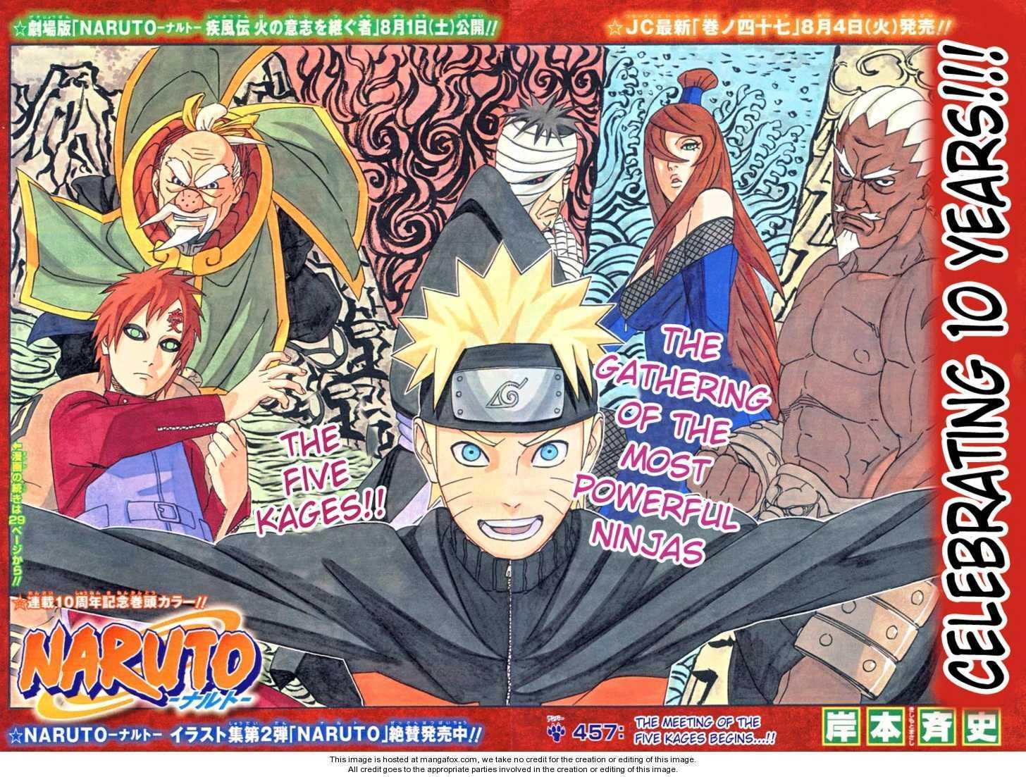 Naruto 457 Page 2