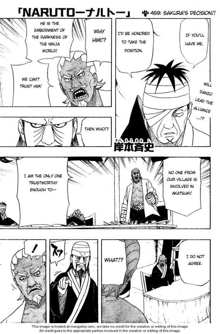 Naruto 459 Page 1