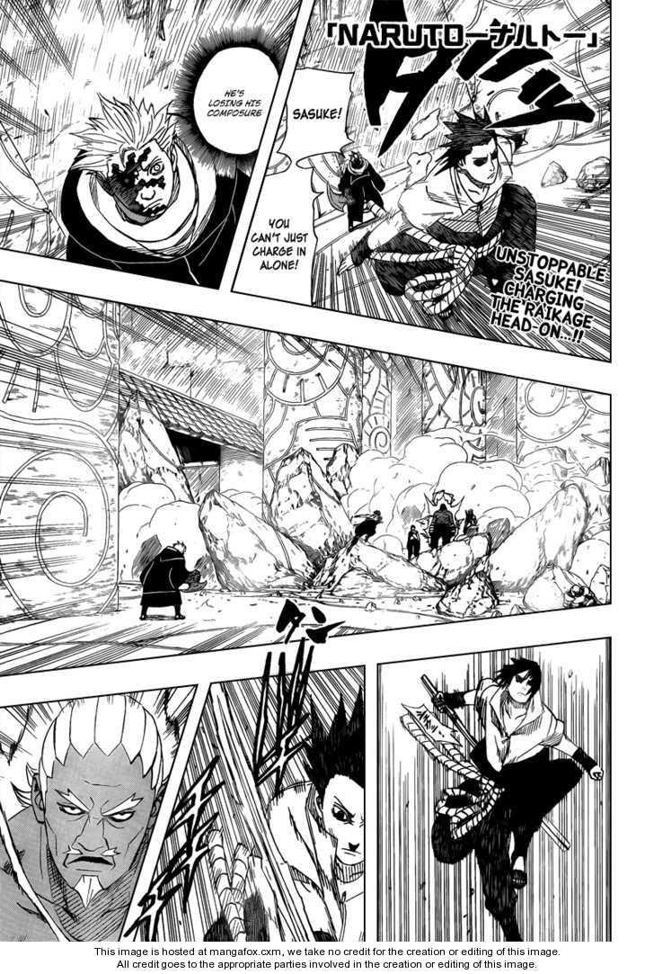 Naruto 461 Page 1