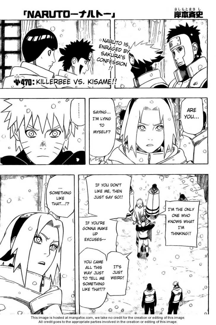 Naruto 470 Page 1