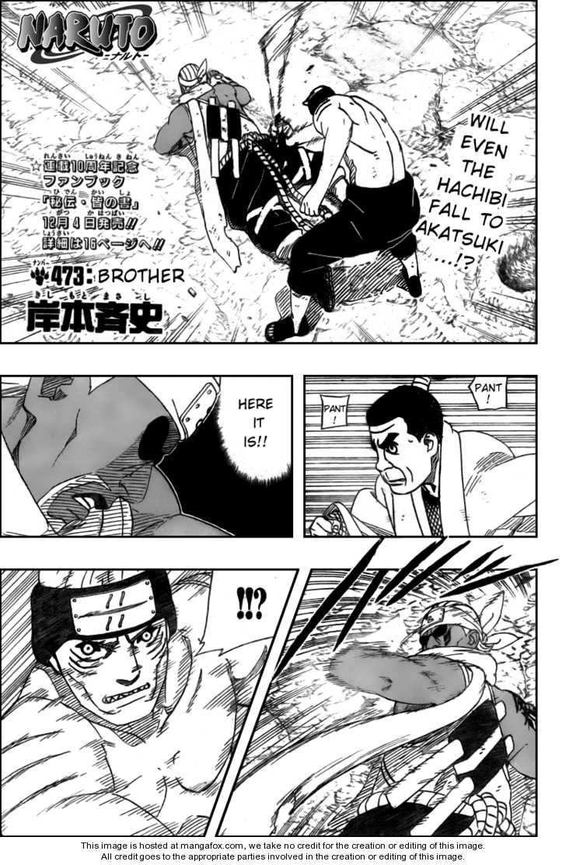 Naruto 473 Page 1