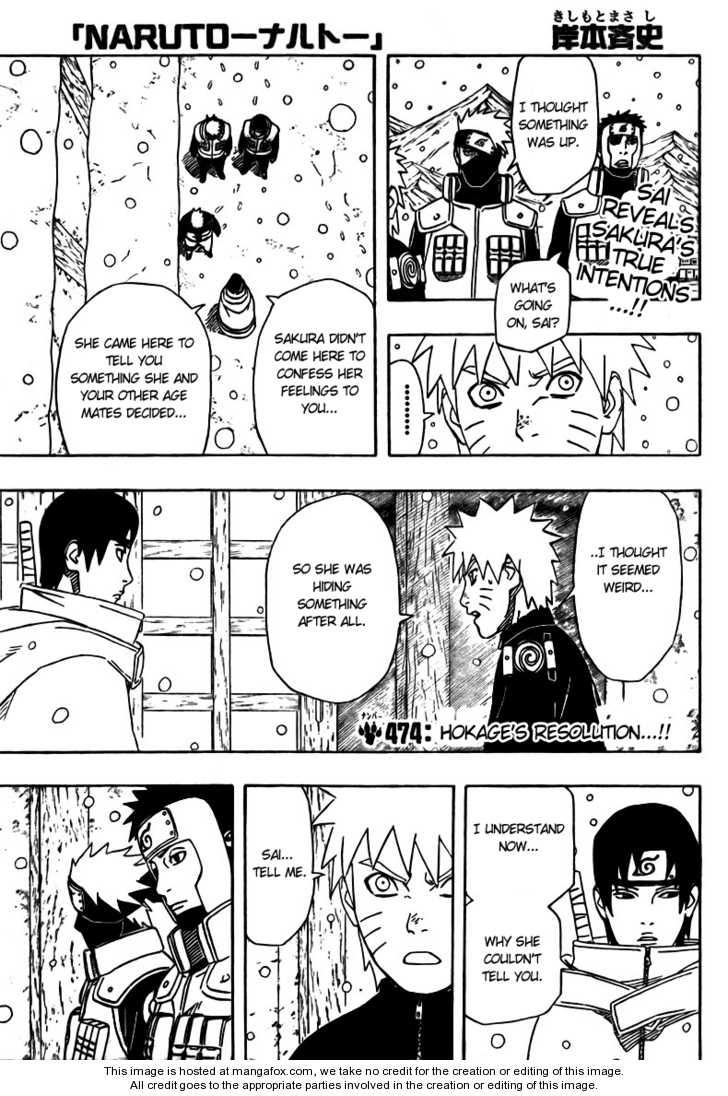 Naruto 474 Page 1