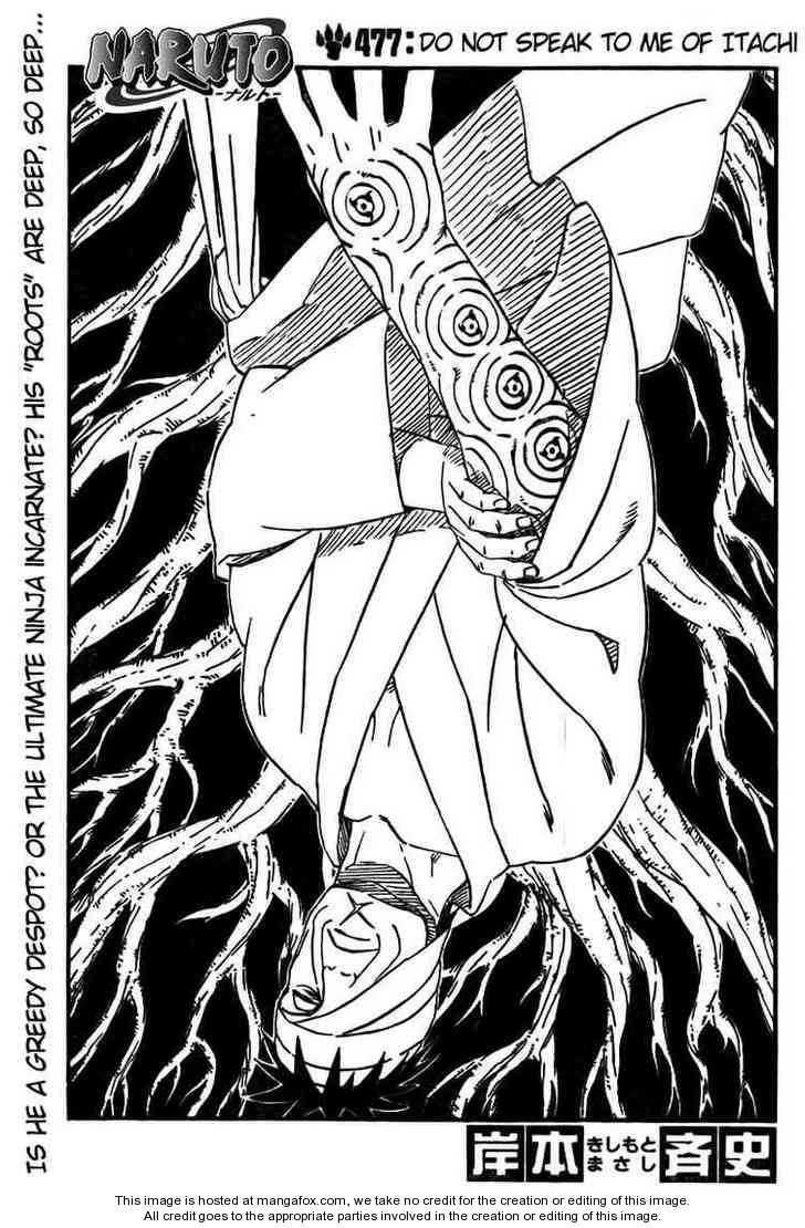 Naruto 477 Page 1