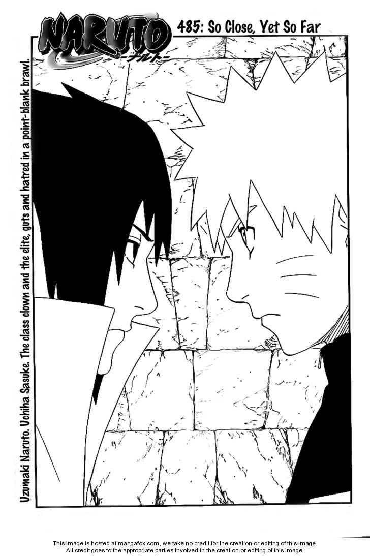 Naruto 485 Page 1