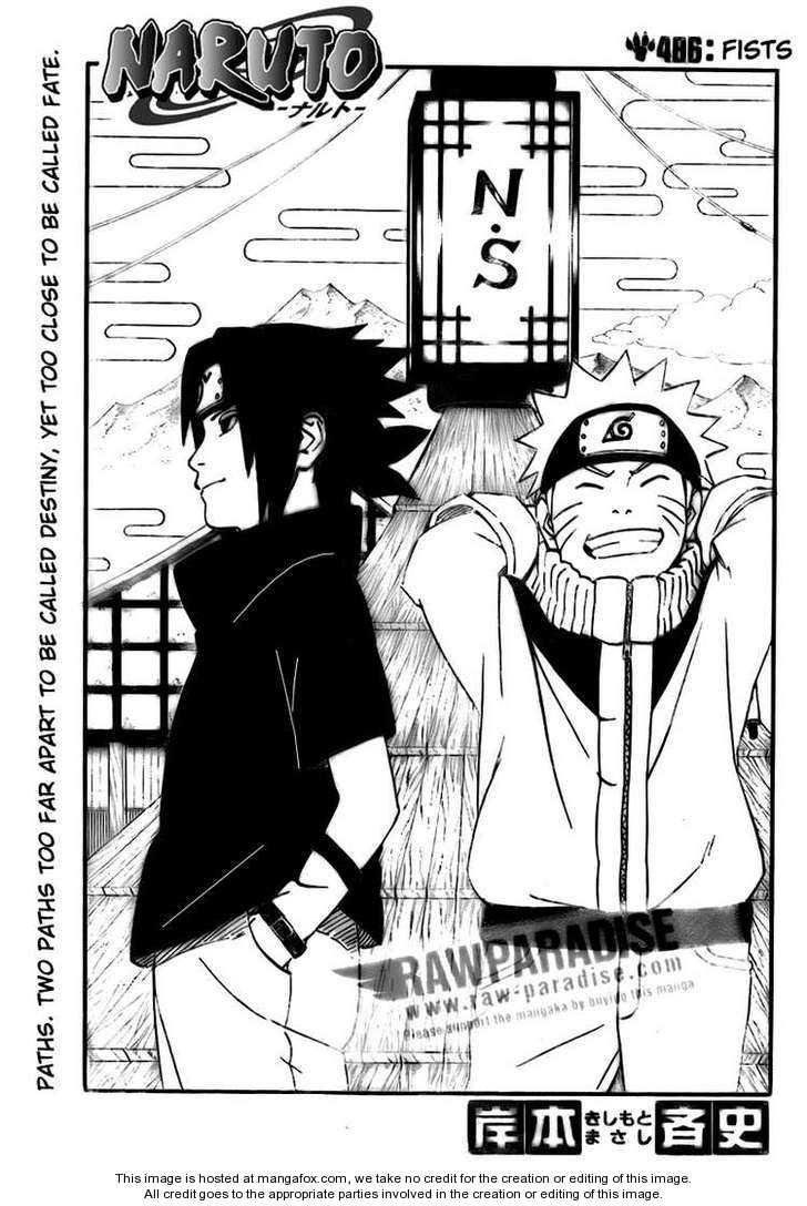 Naruto 486 Page 1