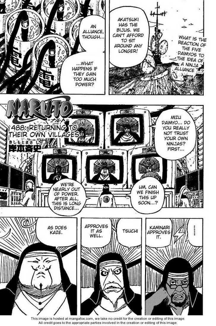 Naruto 488 Page 1