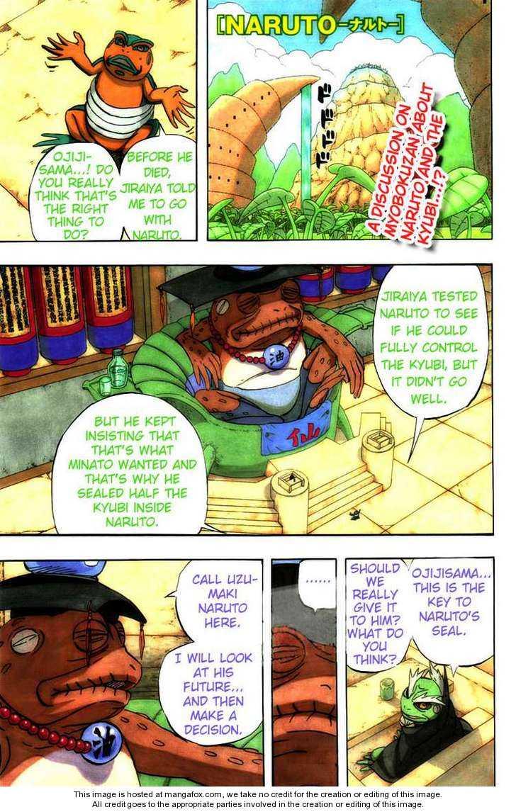 Naruto 489 Page 1