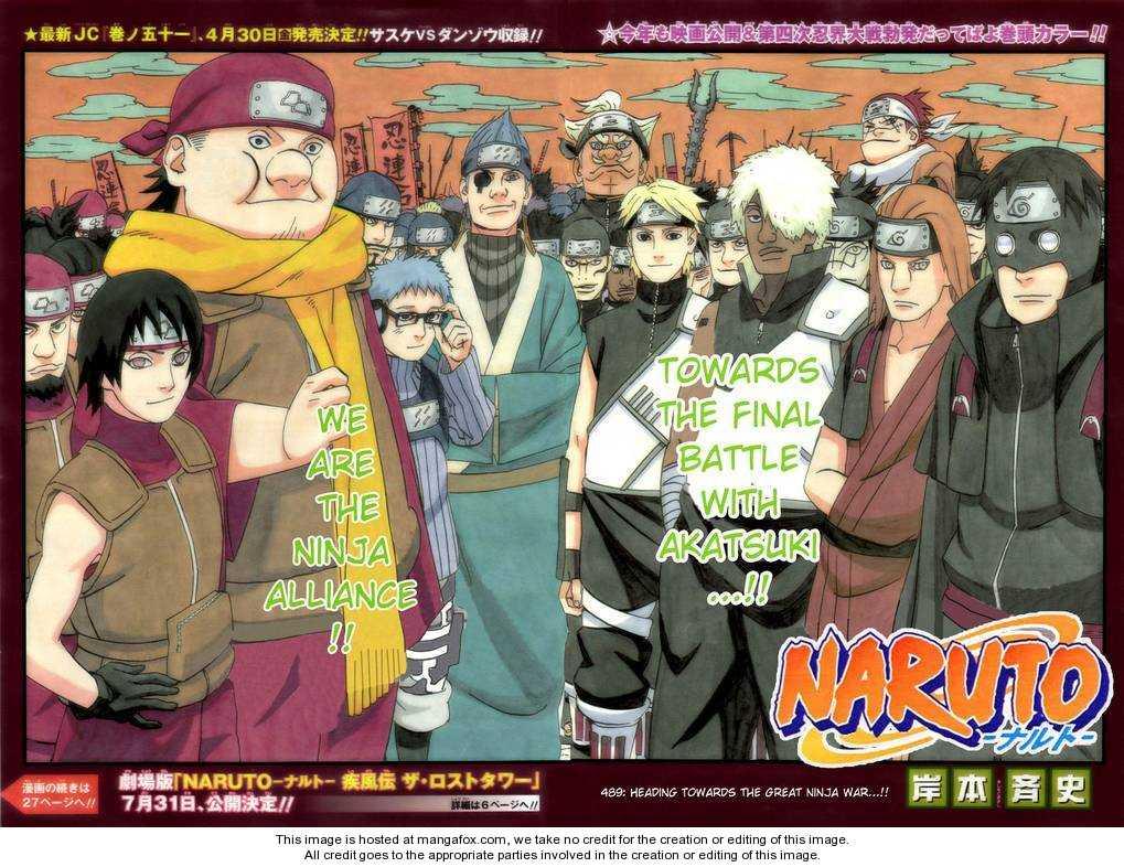 Naruto 489 Page 2