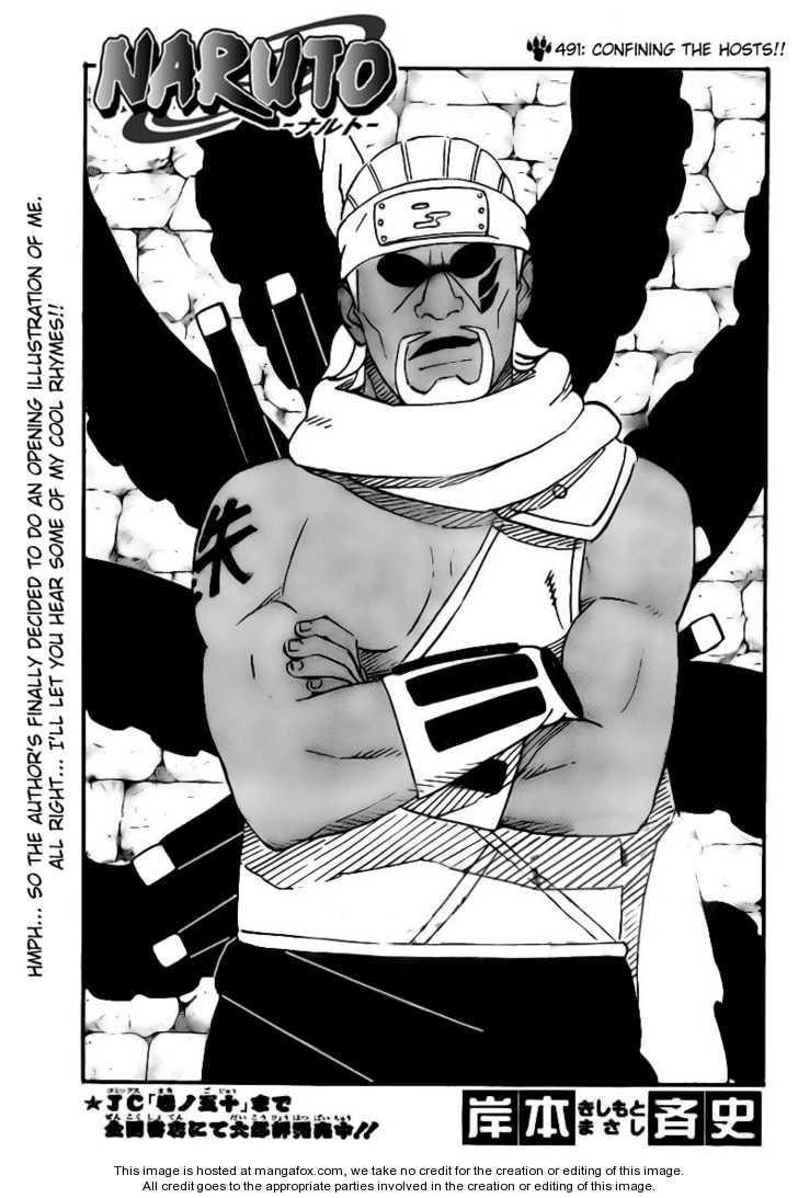 Naruto 491 Page 1