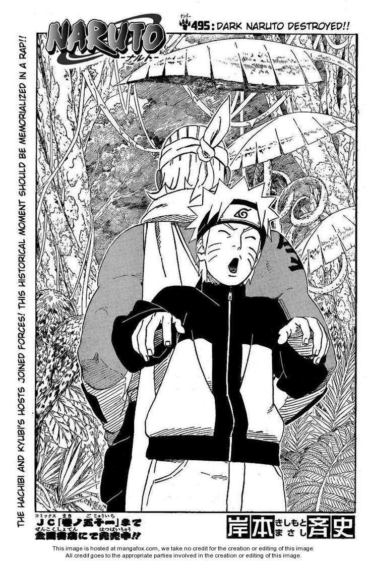Naruto 495 Page 1