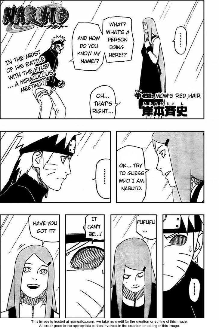 Naruto 498 Page 1