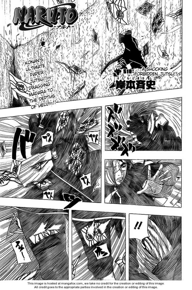 Naruto 510 Page 1