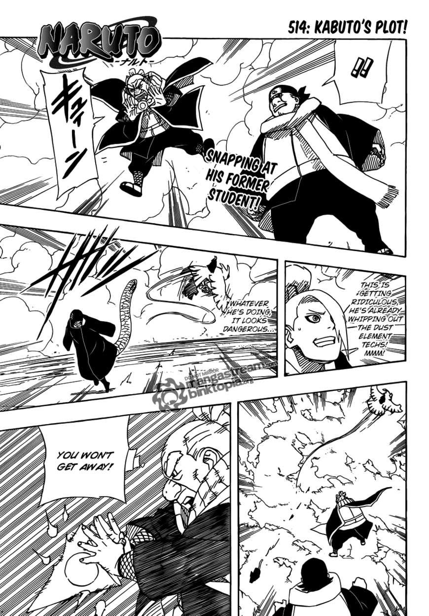 Naruto 514 Page 1