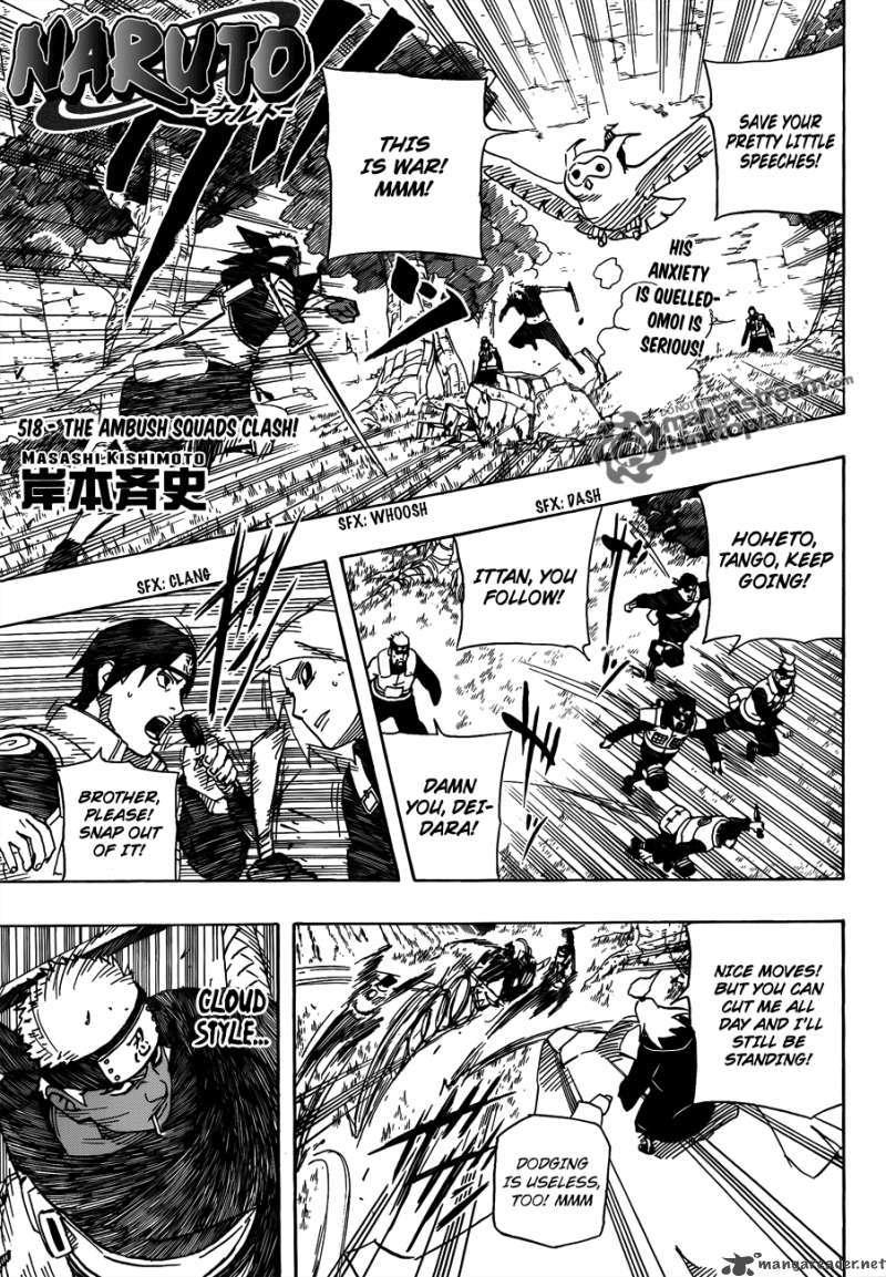 Naruto 518 Page 1
