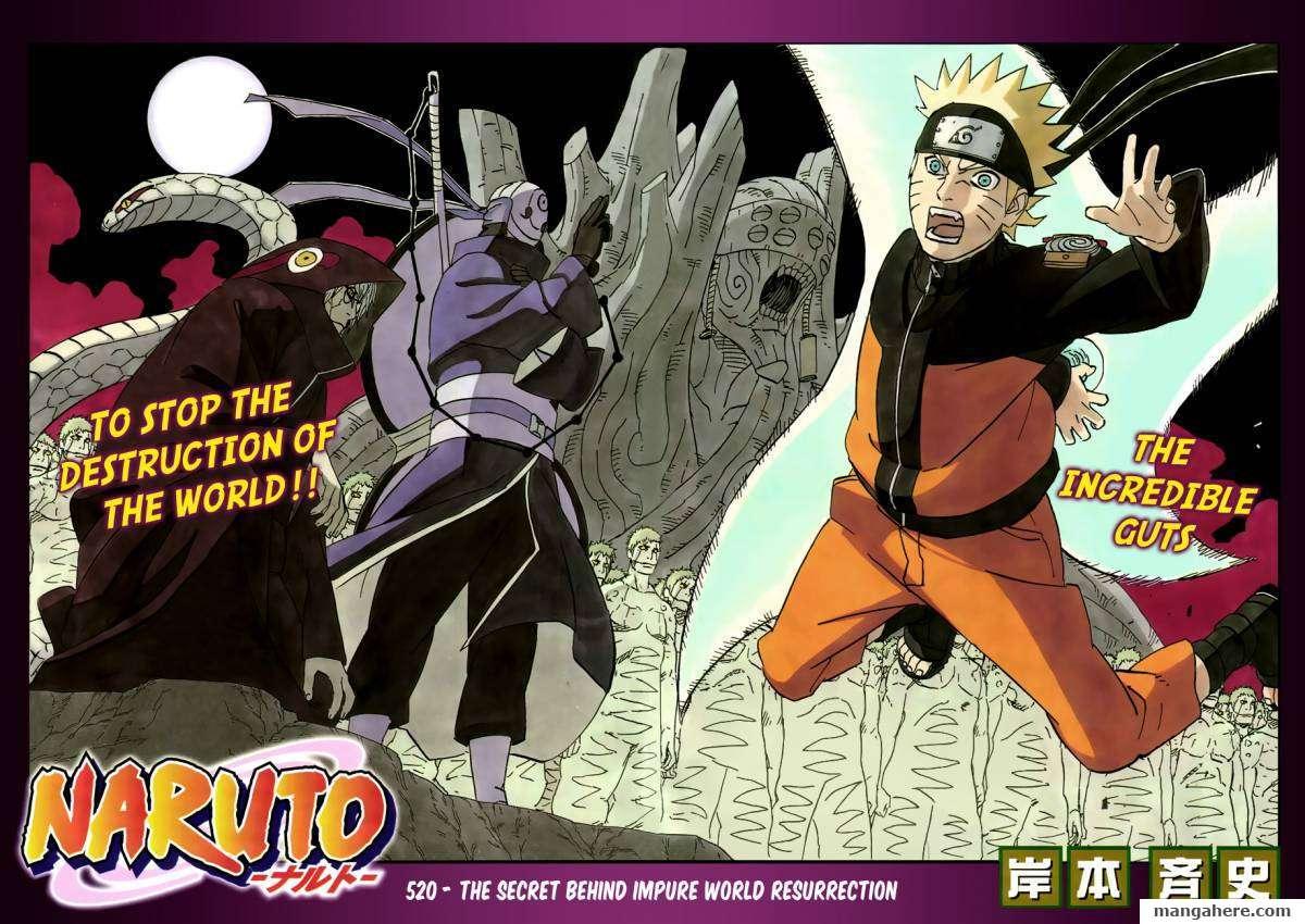 Naruto 520 Page 2
