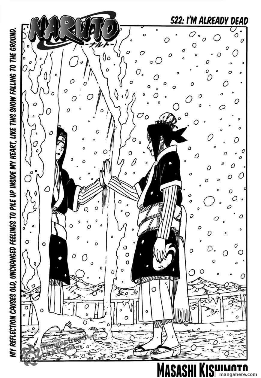 Naruto 522 Page 1