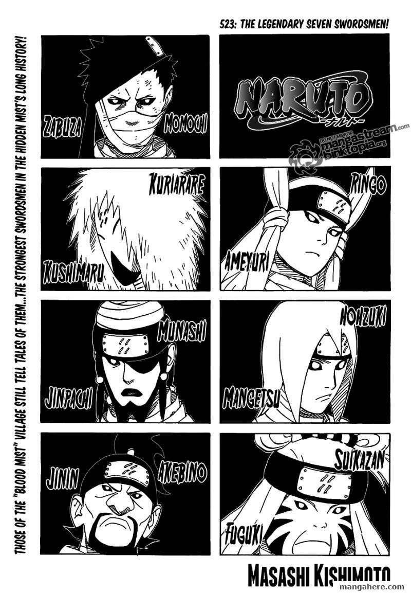 Naruto 523 Page 1