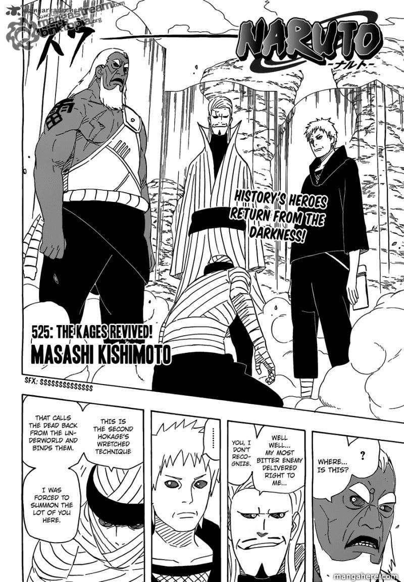 Naruto 525 Page 2