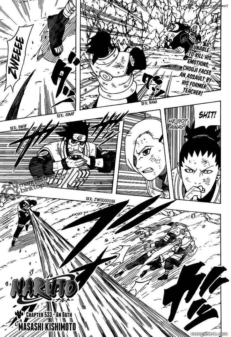 Naruto 533 Page 1