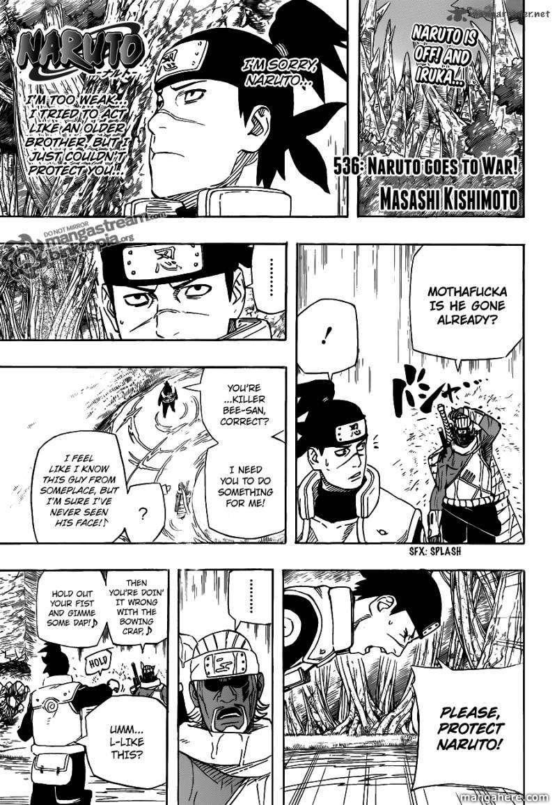 Naruto 536 Page 1