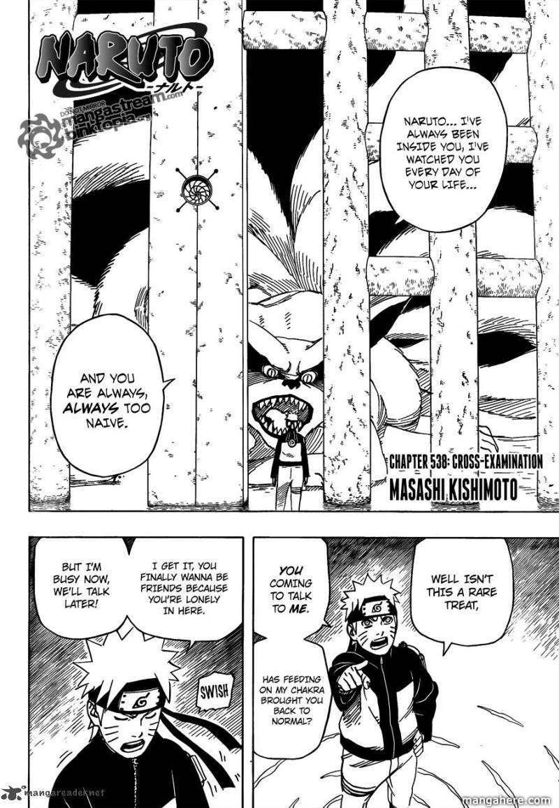 Naruto 538 Page 2