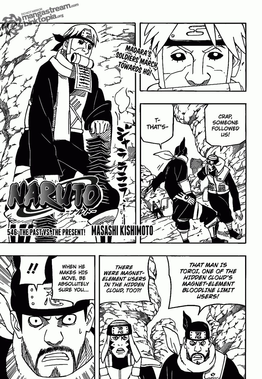 Naruto 546 Page 2