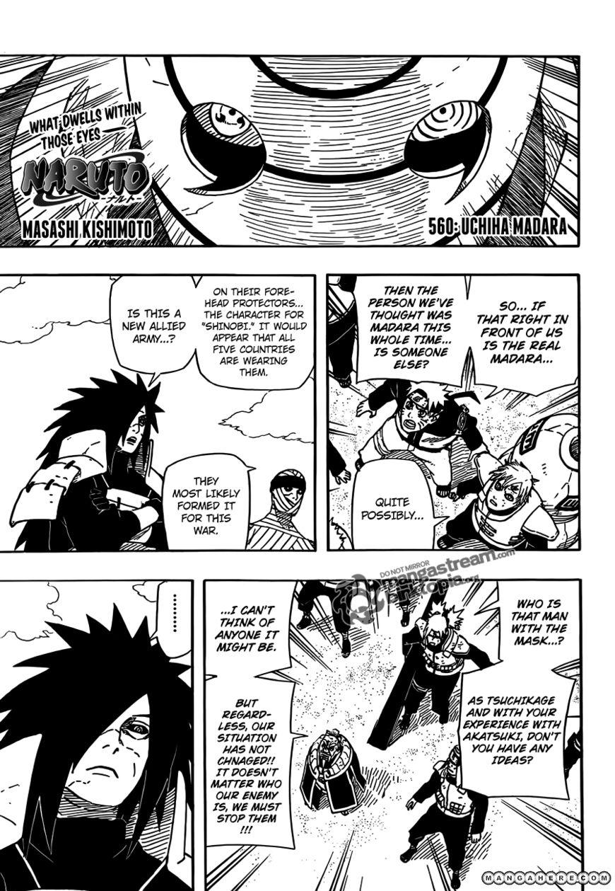 Naruto 560 Page 1