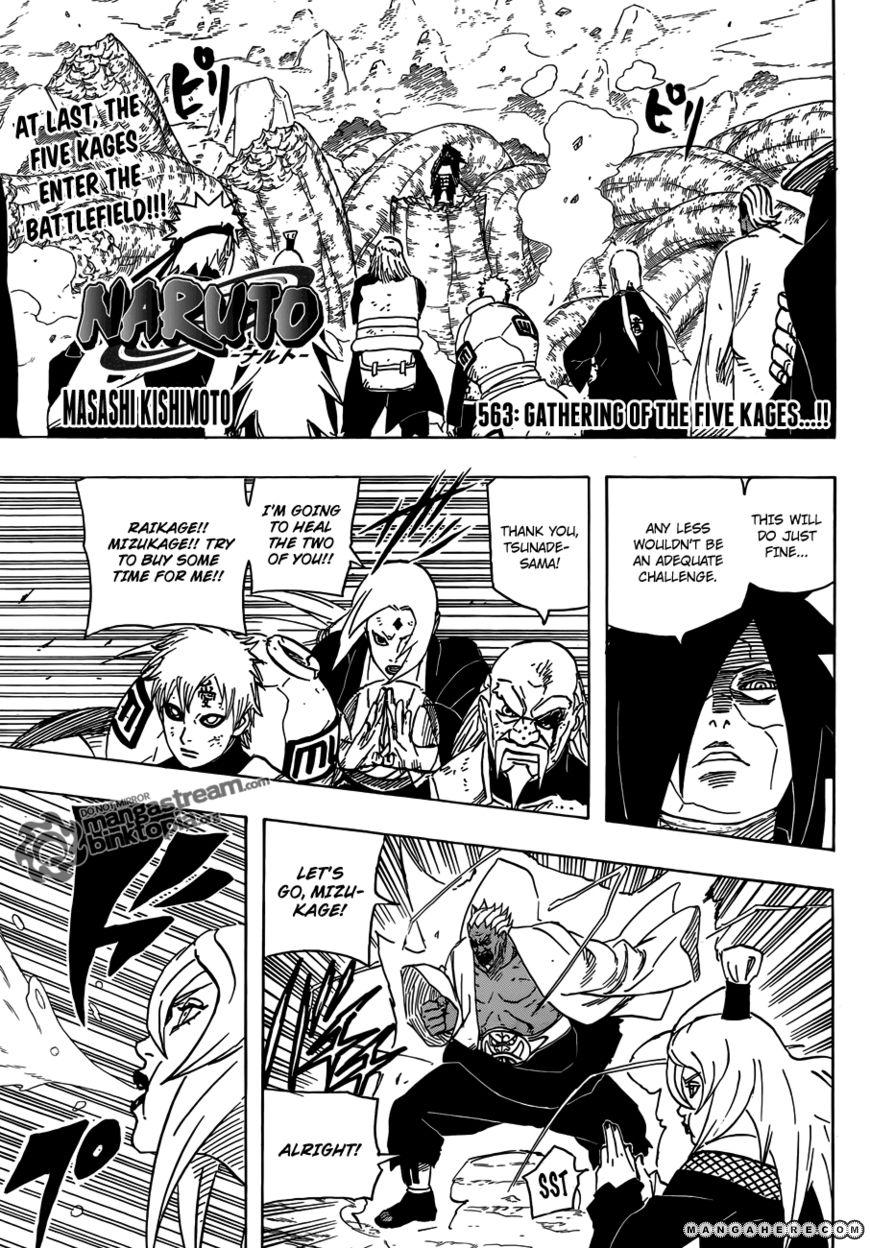 Naruto 563 Page 1