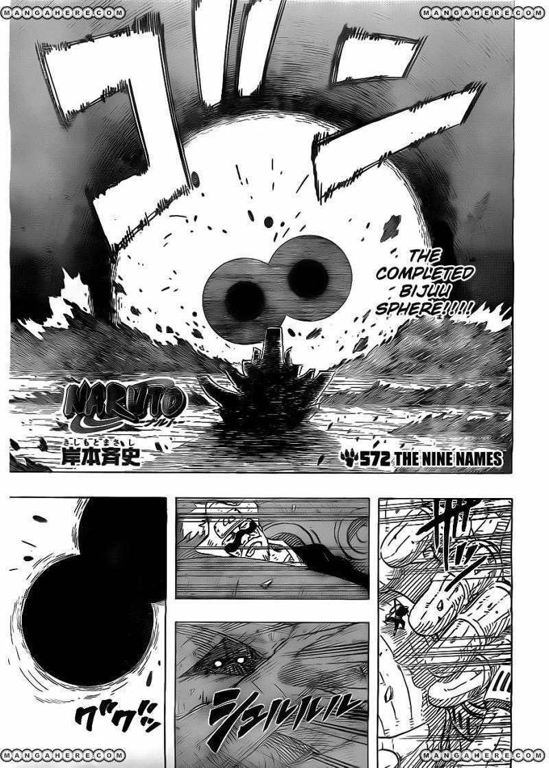 Naruto 572 Page 1