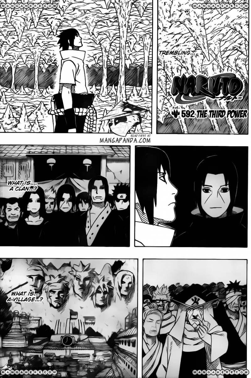 Naruto 592 Page 1