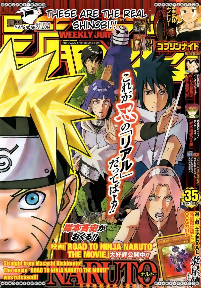 Naruto 595 Page 1