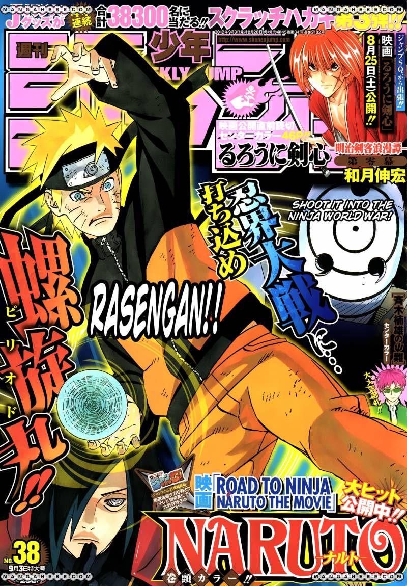 Naruto 597 Page 1