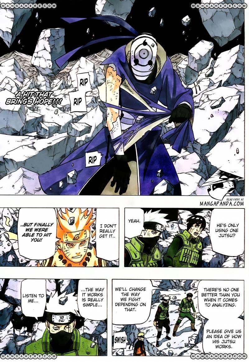 Naruto 597 Page 2