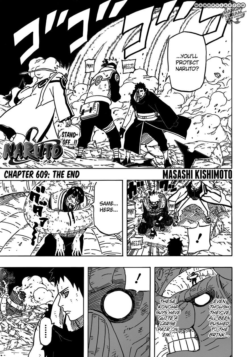 Naruto 609 Page 1