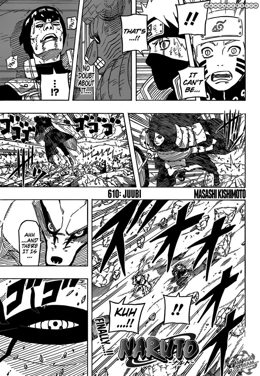 Naruto 610 Page 1