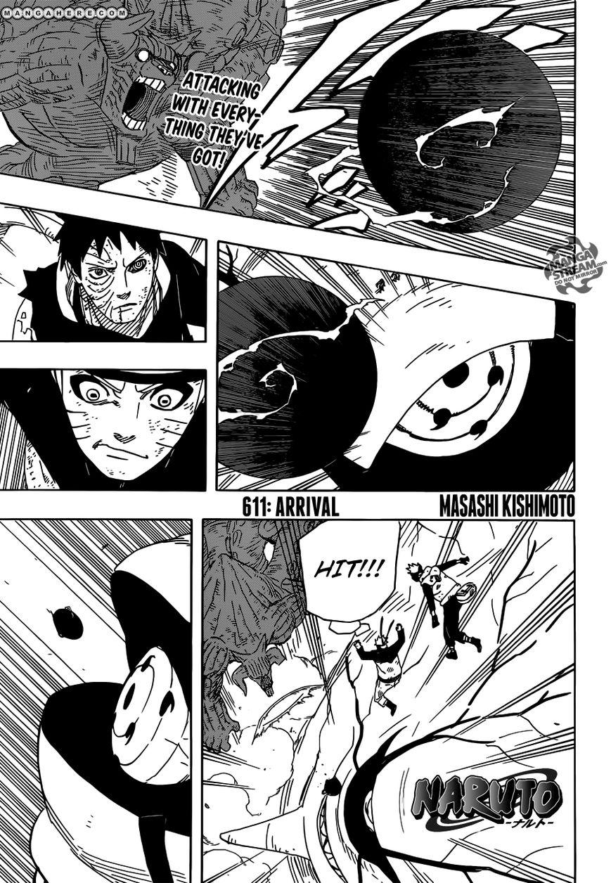 Naruto 611 Page 1