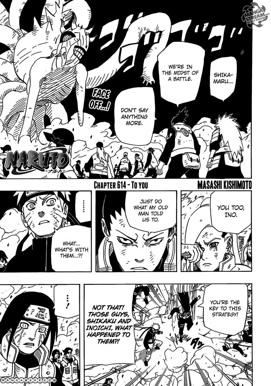 Naruto 614 Page 1