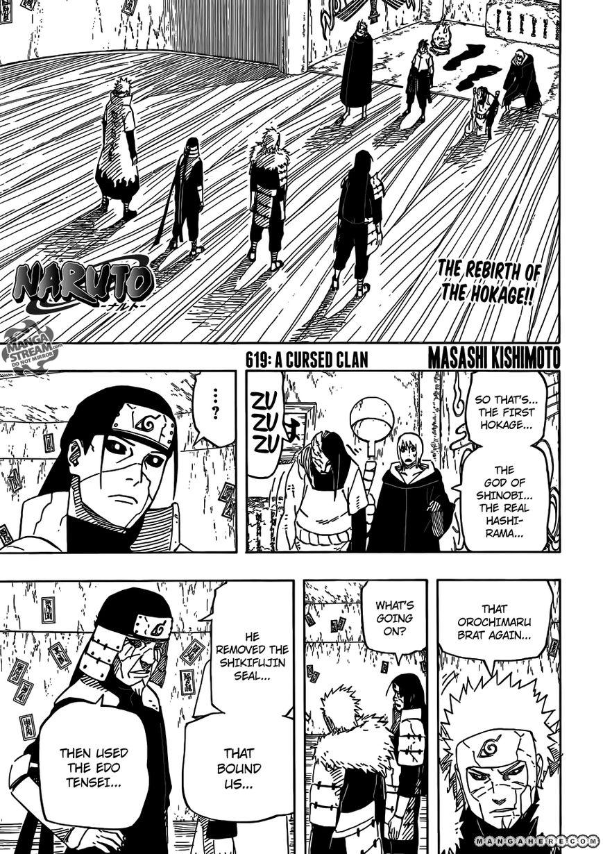 Naruto 619 Page 1