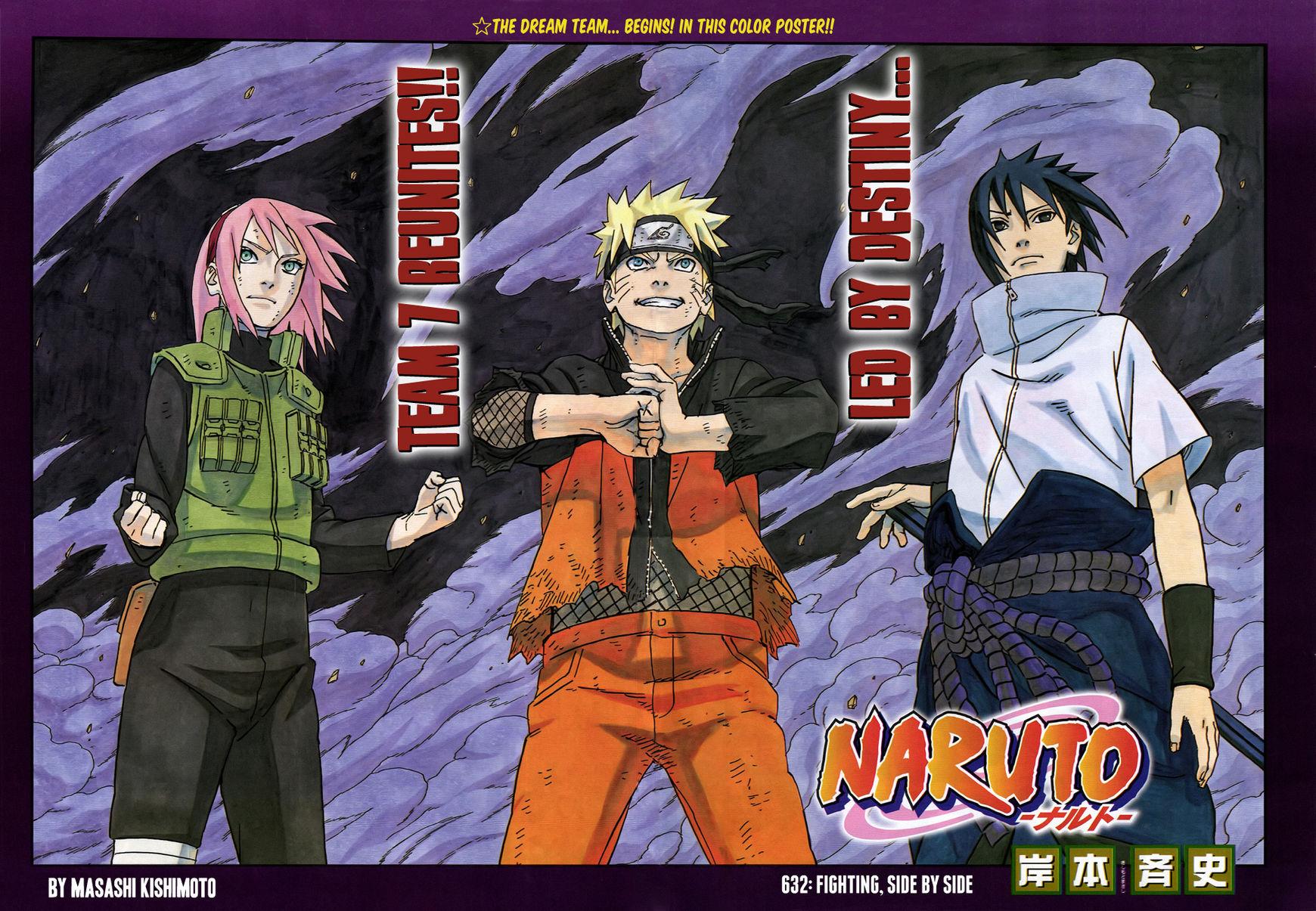 Naruto 632 Page 1